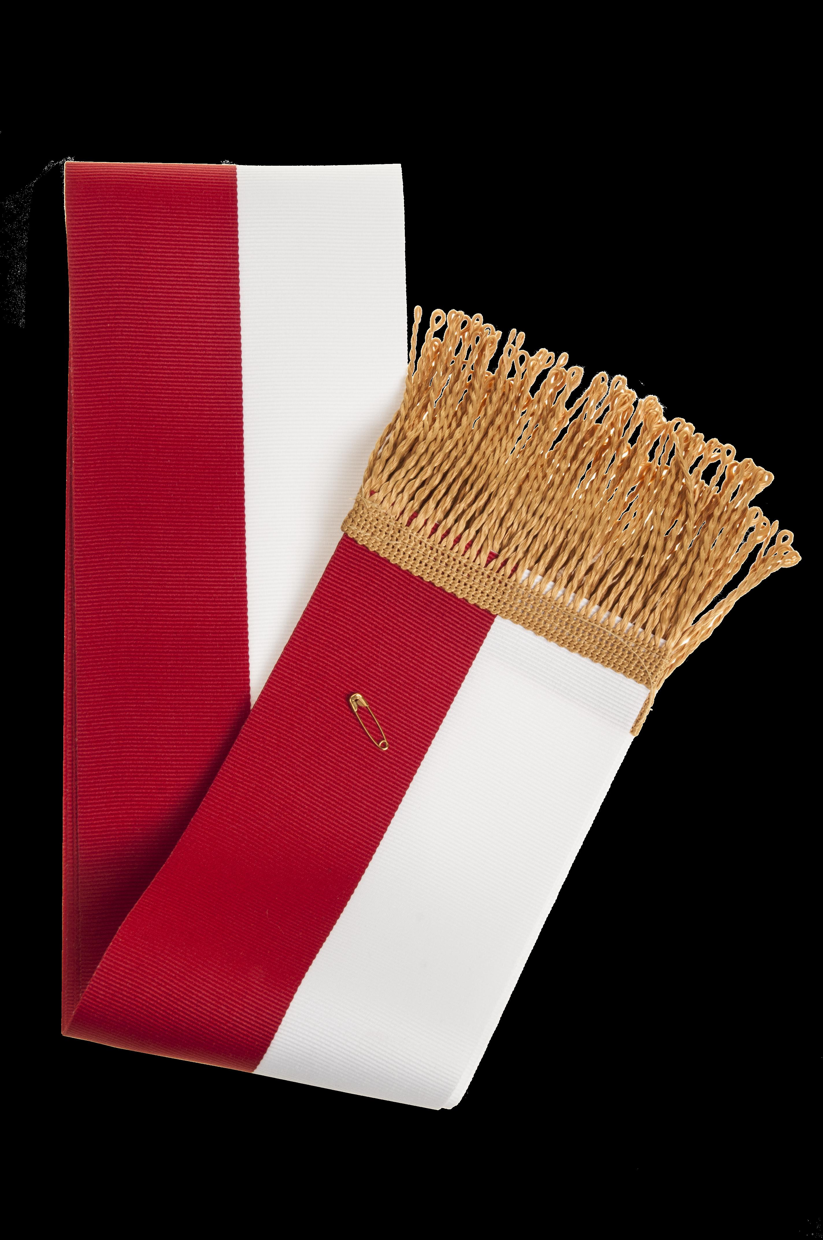Modernistyczne szarfa biało-czerwona Sklep z flagami . Sprzedaż detaliczna SK79